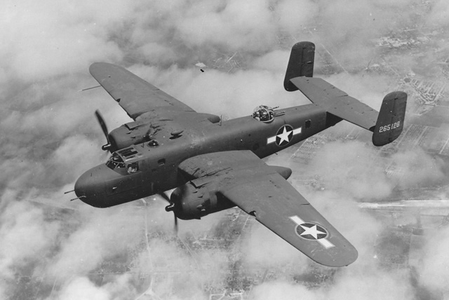 "B25 Mitchell Bomber ""Pistoff"" - The B-25 Mitchel Bomber"