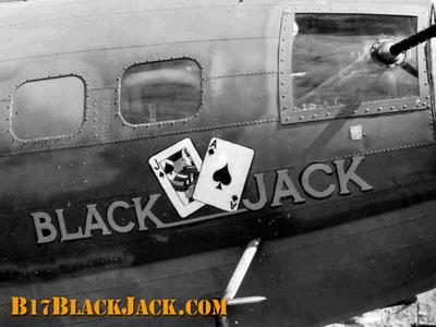 "History of the B-17F Black Jack Wreck - The ""Black Jack"" on Black Jack..."
