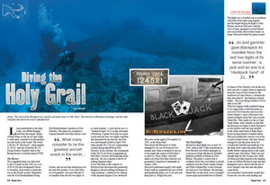Diving PNG's Holy Grail – The B-17F Black Jack Wreck