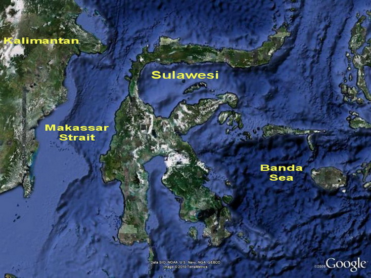 North Sulawesi Map