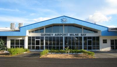 Milne Bay Province Logistics - Alotau airport