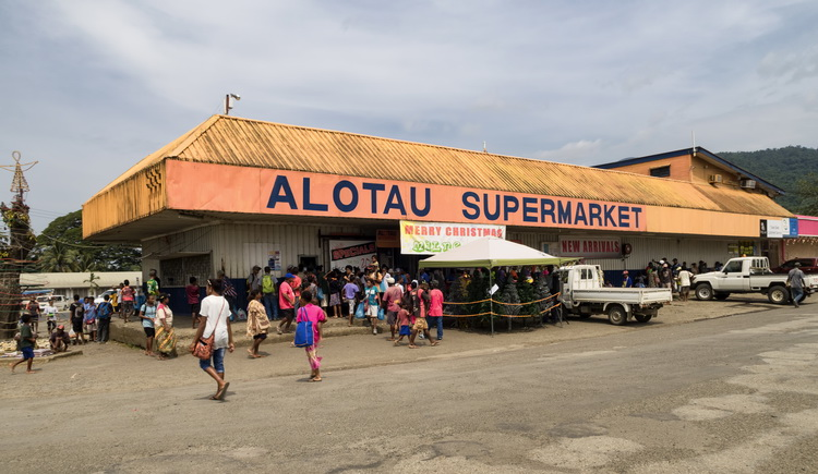 Milne Bay Province Overview - Downtown Alotau