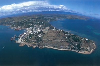 Port Moresby aerial photograph