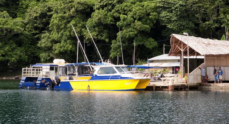 Scuba diving at Tufi - Tufi Dive Shop