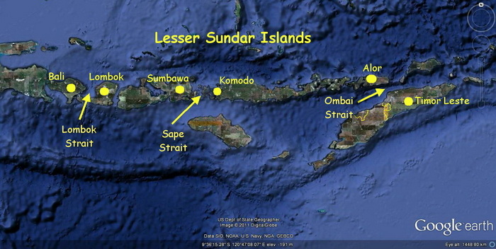 Download this Map The Lesser Sunda... picture