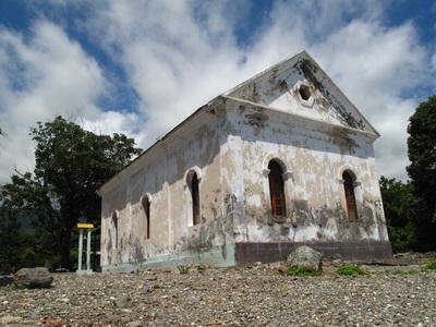 Maubara Church, west of Dili in Timor Leste