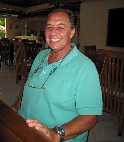 Tulamben Wreck Divers owner Tony Medlow