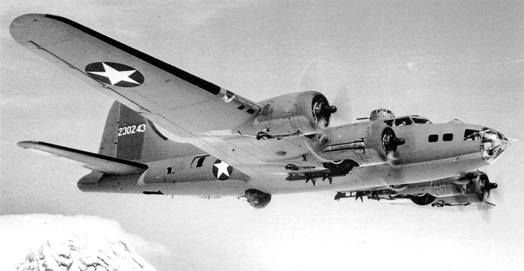 History of the B-17F Black Jack Wreck - A Boeing B-17F Flying Fortress Bomber