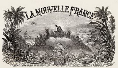 La Nouvelle France - Image Courtesy of Wikipedia