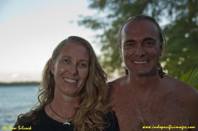 Kavieng Logistics and Dive Operators - Dietmar and Ange Amon