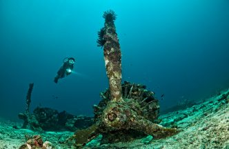 Kavieng Dive Sites – The Catalina Wreck