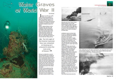 The WWII wrecks of Kavieng in Papua New Guinea