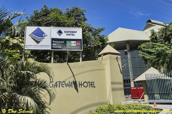 Where to stay in Port Moresby - The Gateway Hotel in Port Moresby