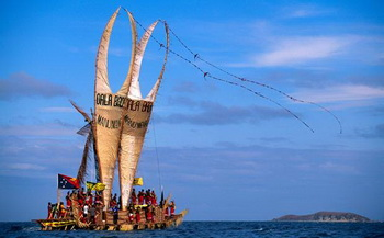 Hanuabada Stilt Village and the Hiri Moale Festival - Courtesy of Telegraph