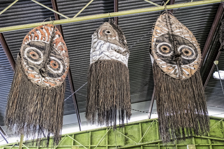 More traditional artifacts on display at PNG Arts in Port Moresby