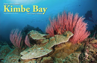 Kimbe Bay – the Coral Crucible