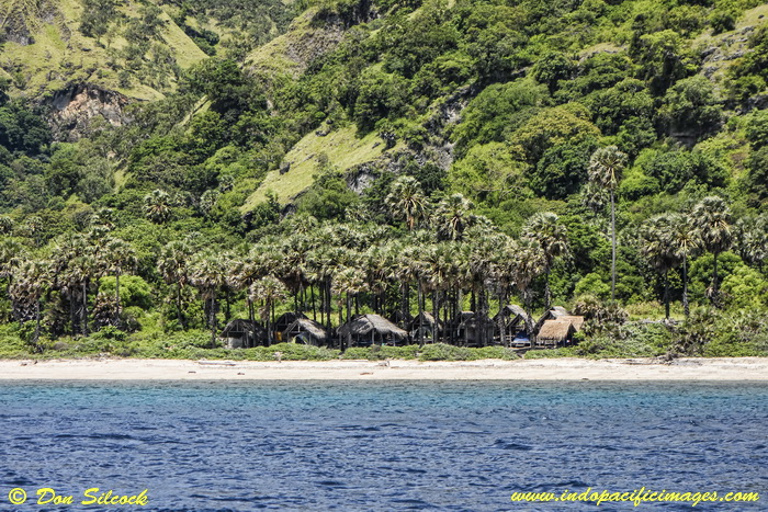 Adara Eco-Camp on the west coast of Atauro Island