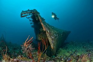 Papua New Guinea Scuba Diving Guide - The Der Yang Wreck