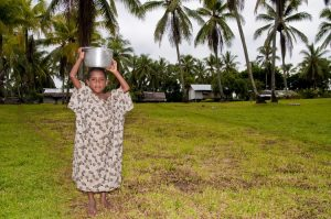 Young girl at Orotoaba village near Tufi