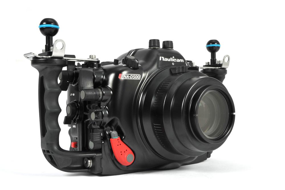 Nikon D500 Underwater - Nauticam NA-D500 Housing