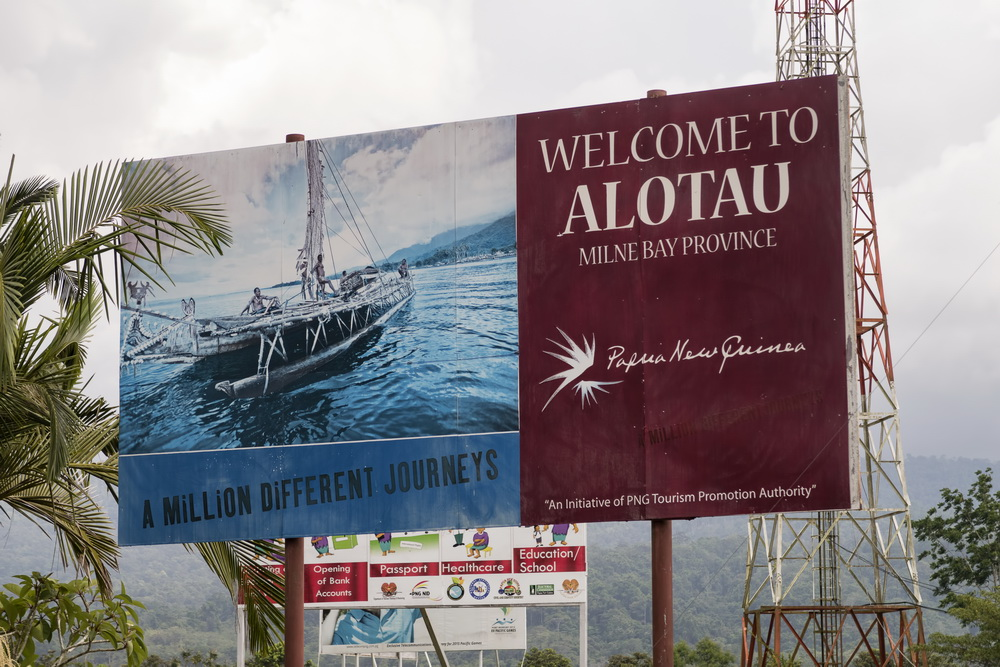 Milne Bay Province Logistics - Alotau