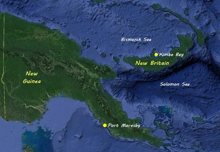 Kimbe Bay Logistics - Map of Papua New Guinea