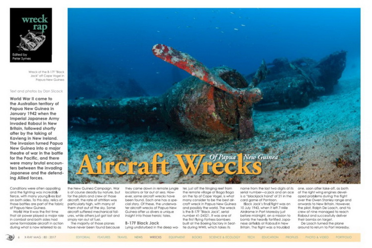 The Aircraft Wrecks of Papua New Guinea